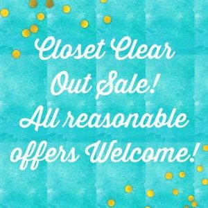 Other - Closet Clear Out! Everything Must Go! 🛍